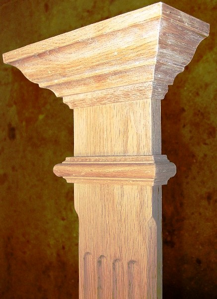 Oak pillar Large02